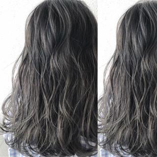 グラデーションカラー ダブルカラー ブリーチ ストリート ヘアスタイルや髪型の写真・画像