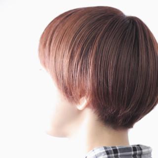 ナチュラル マッシュヘア マッシュ マッシュショート ヘアスタイルや髪型の写真・画像