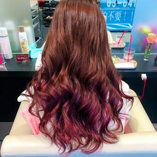 デート ロング ハロウィン フェミニン ヘアスタイルや髪型の写真・画像