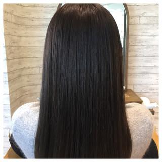 艶髪 ブルージュ アッシュ ロング ヘアスタイルや髪型の写真・画像