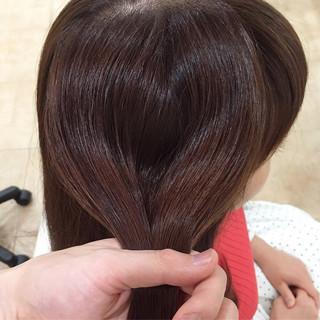 トリートメント エレガント ツヤツヤ 美髪 ヘアスタイルや髪型の写真・画像