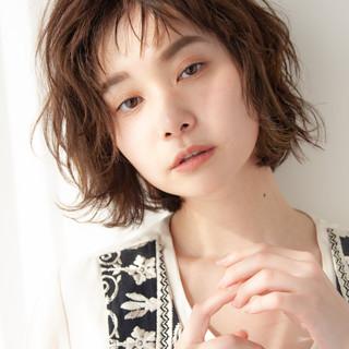 ショートボブ ナチュラル ヘアカラー 髪質改善 ヘアスタイルや髪型の写真・画像