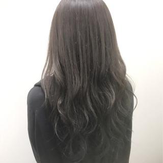 渋谷系 ネイビー 外国人風 暗髪 ヘアスタイルや髪型の写真・画像