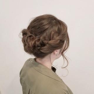 成人式 フェミニン ヘアアレンジ デート ヘアスタイルや髪型の写真・画像 ヘアスタイルや髪型の写真・画像
