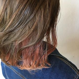 ピンクバイオレット ラベンダーピンク ピンクラベンダー ピンクアッシュ ヘアスタイルや髪型の写真・画像