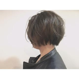 大人かわいい ハイライト ボブ レイヤーカット ヘアスタイルや髪型の写真・画像