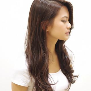 ゆるふわ ロング ナチュラル 前髪あり ヘアスタイルや髪型の写真・画像 ヘアスタイルや髪型の写真・画像