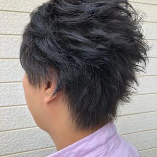 ストリート メンズカラー ハイライト デート ヘアスタイルや髪型の写真・画像