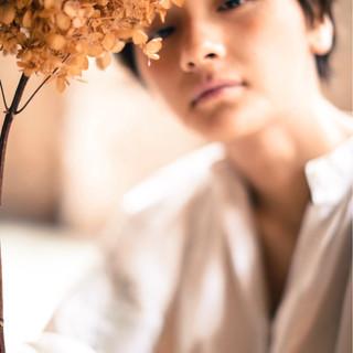ベリーショート ゆるふわ ショート ウェーブ ヘアスタイルや髪型の写真・画像