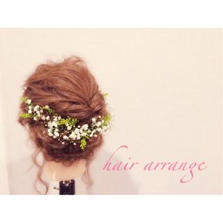 ヘアアレンジ 愛され モテ髪 セミロング ヘアスタイルや髪型の写真・画像