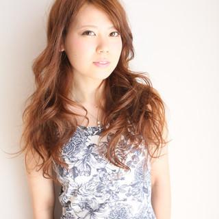 ロング ナチュラル フェミニン 大人かわいい ヘアスタイルや髪型の写真・画像