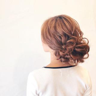 アップスタイル ヘアアレンジ ロング 結婚式ヘアアレンジ ヘアスタイルや髪型の写真・画像