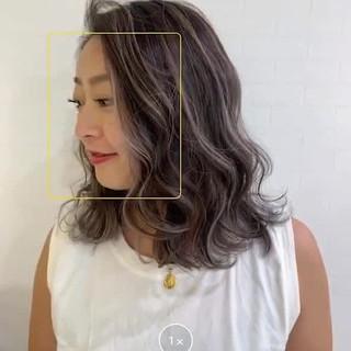 ベージュ 成人式 ナチュラル デート ヘアスタイルや髪型の写真・画像