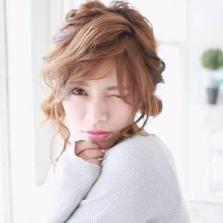 ガーリー モテ髪 ストリート フェミニン ヘアスタイルや髪型の写真・画像 ヘアスタイルや髪型の写真・画像