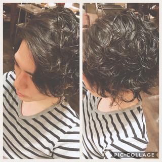 ボーイッシュ ショート 似合わせ ミディアム ヘアスタイルや髪型の写真・画像