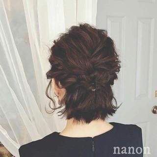 上品 春 ヘアアレンジ 女子会 ヘアスタイルや髪型の写真・画像 ヘアスタイルや髪型の写真・画像