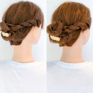 アウトドア ロング エレガント デート ヘアスタイルや髪型の写真・画像