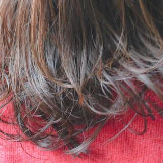 簡単 外国人風 ゆるふわ パーマ ヘアスタイルや髪型の写真・画像