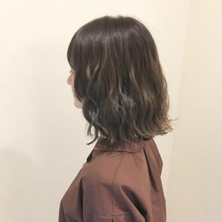 透明感 モテ髪 フェミニン 外国人風カラー ヘアスタイルや髪型の写真・画像