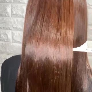 髪質改善 サイエンスアクア ロング 韓国ヘア ヘアスタイルや髪型の写真・画像 ヘアスタイルや髪型の写真・画像