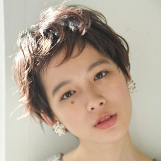 外国人風 デート パーマ ニュアンス ヘアスタイルや髪型の写真・画像