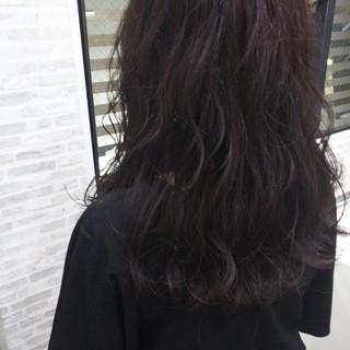 モテ髪 セミロング コテ巻き コンサバ ヘアスタイルや髪型の写真・画像