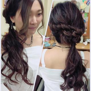 涼しげ ロング ガーリー 色気 ヘアスタイルや髪型の写真・画像 ヘアスタイルや髪型の写真・画像