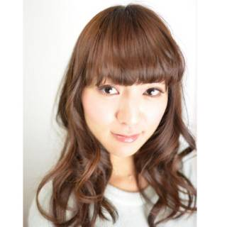 モテ髪 ロング フェミニン ナチュラル ヘアスタイルや髪型の写真・画像