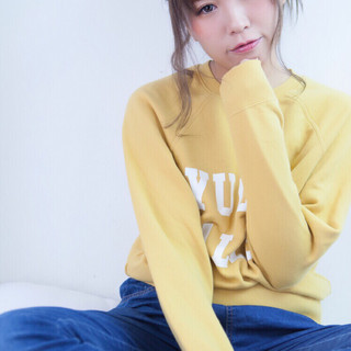 フェミニン アッシュ 冬 ヘアアレンジ ヘアスタイルや髪型の写真・画像 ヘアスタイルや髪型の写真・画像