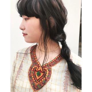 簡単ヘアアレンジ ヘアアレンジ ロング ナチュラル ヘアスタイルや髪型の写真・画像