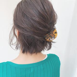 ナチュラル デート アンニュイほつれヘア ヘアアレンジ ヘアスタイルや髪型の写真・画像
