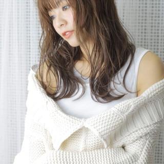 大人女子 かわいい こなれ感 ナチュラル ヘアスタイルや髪型の写真・画像