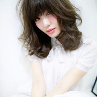 ミディアム 夏 コンサバ 春 ヘアスタイルや髪型の写真・画像