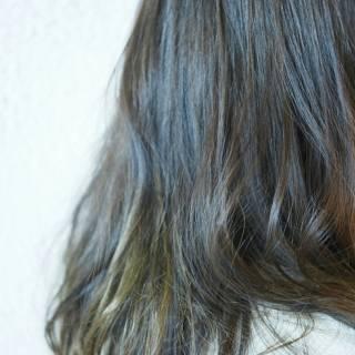 ストリート 外国人風 ロング ナチュラル ヘアスタイルや髪型の写真・画像