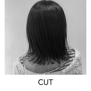 ボブ ナチュラル 外ハネ ショートボブ ヘアスタイルや髪型の写真・画像 ヘアスタイルや髪型の写真・画像
