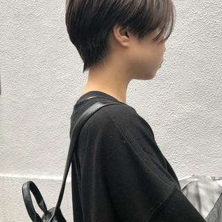 ショート ストリート ハンサムショート ショートヘア ヘアスタイルや髪型の写真・画像