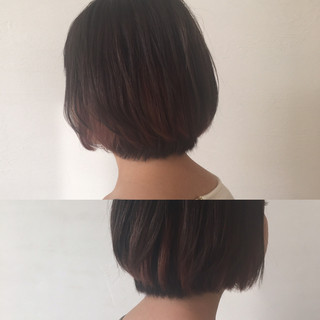 外国人風 ショート インナーカラー イルミナカラー ヘアスタイルや髪型の写真・画像