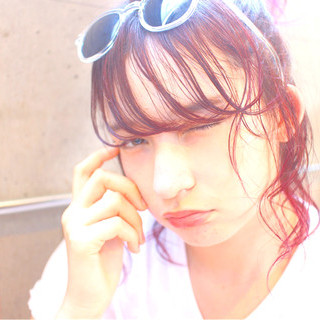 簡単ヘアアレンジ ショート 外国人風 ヘアアレンジ ヘアスタイルや髪型の写真・画像