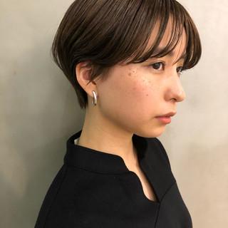 ナチュラル ハイライト ショートボブ ラフ ヘアスタイルや髪型の写真・画像 ヘアスタイルや髪型の写真・画像