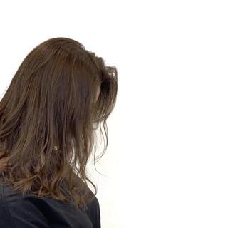 デート 外ハネボブ ミディアム ヘアアレンジ ヘアスタイルや髪型の写真・画像