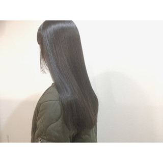 黒髪 暗髪 ナチュラル 冬 ヘアスタイルや髪型の写真・画像
