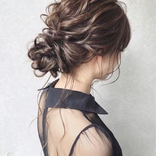 フェミニン アンニュイ セミロング ゆるふわ ヘアスタイルや髪型の写真・画像