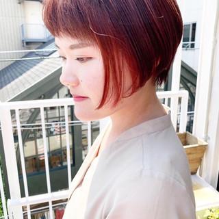 インナーカラーオレンジ スモーキーアッシュベージュ アッシュグレージュ ラベンダーグレージュ ヘアスタイルや髪型の写真・画像