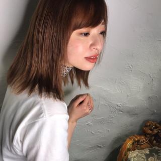ミディアム ナチュラル フォルムコントロールプレックス髪質改善 髪質改善トリートメント ヘアスタイルや髪型の写真・画像