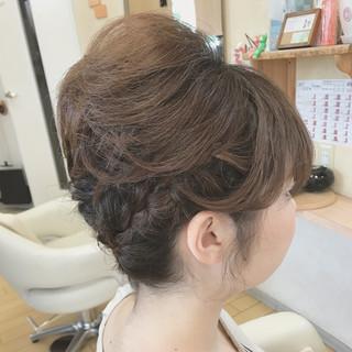 ヘアアレンジ 上品 ショート 結婚式 ヘアスタイルや髪型の写真・画像 ヘアスタイルや髪型の写真・画像