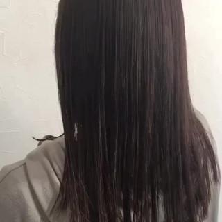 髪質改善トリートメント エレガント トリートメント ロング ヘアスタイルや髪型の写真・画像