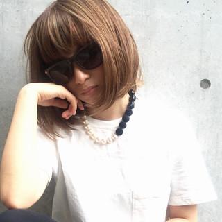 グラデーションカラー 外国人風 アッシュ モード ヘアスタイルや髪型の写真・画像