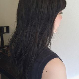 ストリート アッシュグレージュ グレージュ ロング ヘアスタイルや髪型の写真・画像