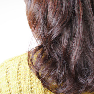 ロング 簡単 パーマ ゆるふわ ヘアスタイルや髪型の写真・画像