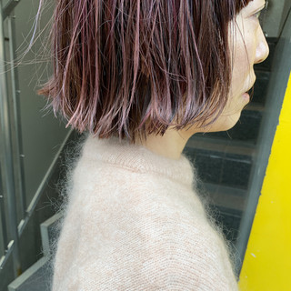 ミニボブ ショートボブ モード ボブ ヘアスタイルや髪型の写真・画像